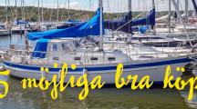 5 båtar för långsegling just nu