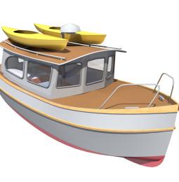 Långfärdsmotorbåten: Trawler