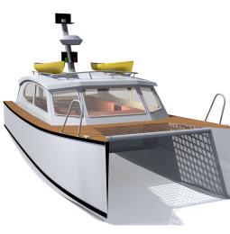Långfärdsmotorbåten: Katamaran