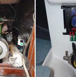 Praktiskt: Installation av elmotor – del 1