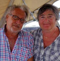Långseglare vi mött: Klara och Lars på Willrose